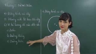 Toán 9: [Hình học]-  Đường kính và dây của đường tròn (Cấp tốc chinh phục đường tròn)