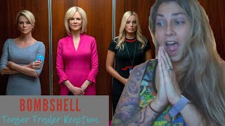 Bombshell (2019 Movie) Official Teaser Trailer Reaction and Review