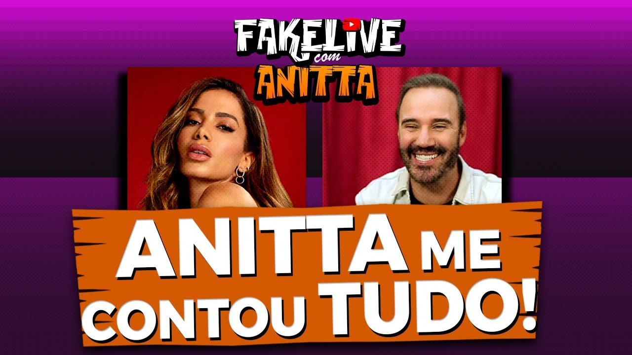 ANITTA REVELA O MOTIVO REAL DAS TRETAS! - DIOGO PORTUGAL FAKELIVE