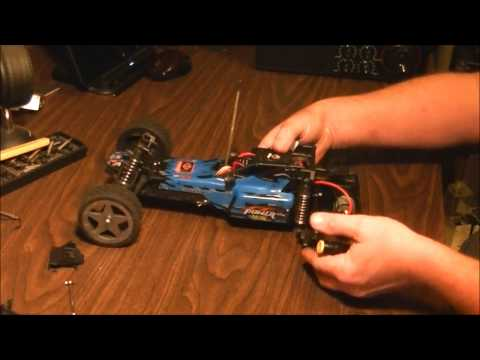 Wltoys L969 L959 L202 and Litehawk Blast how to remove and reinstall the transmission and motor