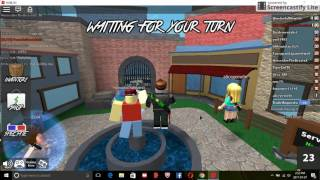 Roblox(Murder mystery 2 with once i w as 7 years old)