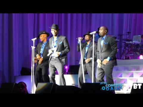 "New Edition performs ""Can You Stand The Rain"" live #CDTBT"