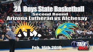 Arizona Lutheran vs Alchesay Boys 2A State Quarterfinals Full Game