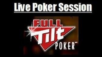 Full Tilt Poker Session 2-4-2014 100 Chip (1R & 1A) Part 1