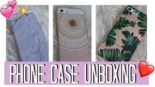 ☆ Aliexpress Phone Case Unboxing ☆