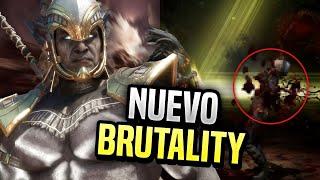 🤯EL NUEVO BRUTALITY DE KOTHAL CONTRA EL MAS MAJO DEL MUNDO - Mortal Kombat 11
