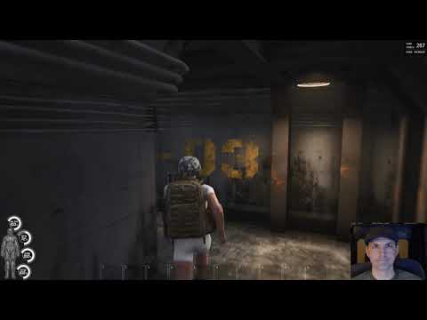 SCUM Bunker C3 entry and exit tutorial, in and out in the first three minutes.