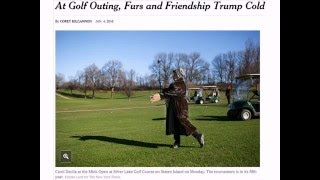 01/04/2016: At Golf Outing, Furs and Friendship Trump Cold
