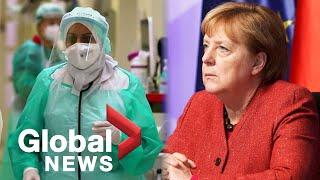 Coronavirus: German doctors hopeful for vaccine as Merkel says 2nd wave could be more severe