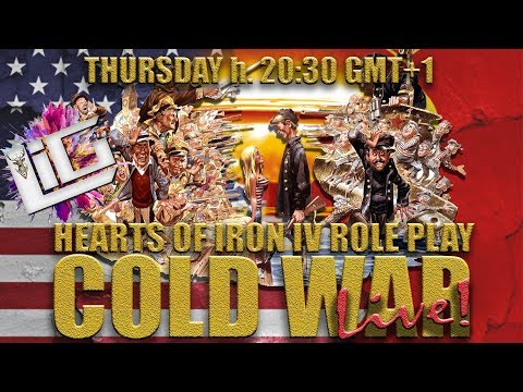 🔴 LIVE Hearts of Iron IV | The Cold War #1 | Il Primo Role Playing Italiano di Hoi4