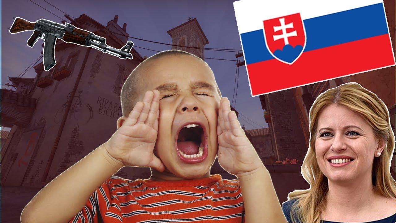 TROLLOVÁNÍ SLOVENSKÉHO DĚCKA V CSGO (aneb proč nechci děti)
