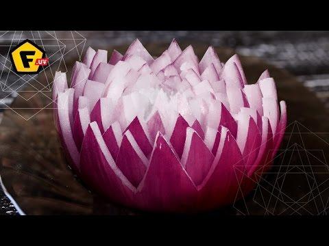 Цветы из лука