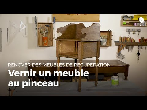 Vernir Un Meuble | Rénovation De Meubles   YouTube