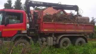Wywóz gruzu Transport Ciężarowy  HDS.