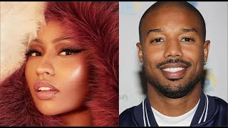 Nikki Minaj GOT TH!RSTY For Michael B Jordan After Winning Award
