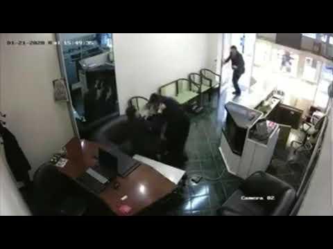 Kara çarşaflı soygun