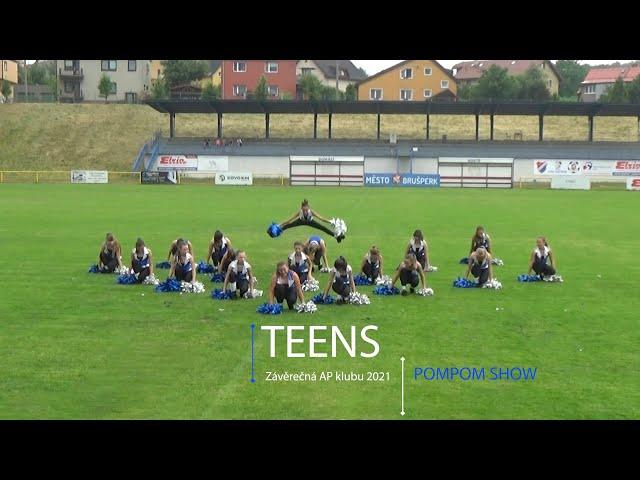 AP klub Brušperk - Závěrečná 2021 - Teens - PomPom Show