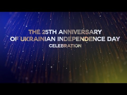 The 25th Anniversary of Ukrainian Independence day celebration in Dubai