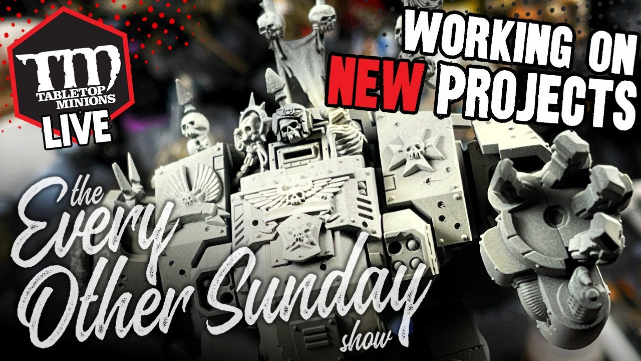 Working On NEW Projects - The Every Other Sunday Show