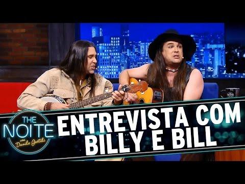 The Noite (26/10/15) - Entrevista Com Billy E Bill