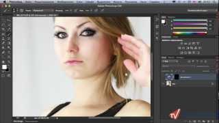 Как сделать выразительный взгляд в Photoshop CS6