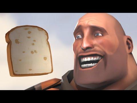 Contaminated Sandvich! I am Bread, TF2 Mission!