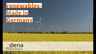 """renewables - Made in Germany"" (english)"