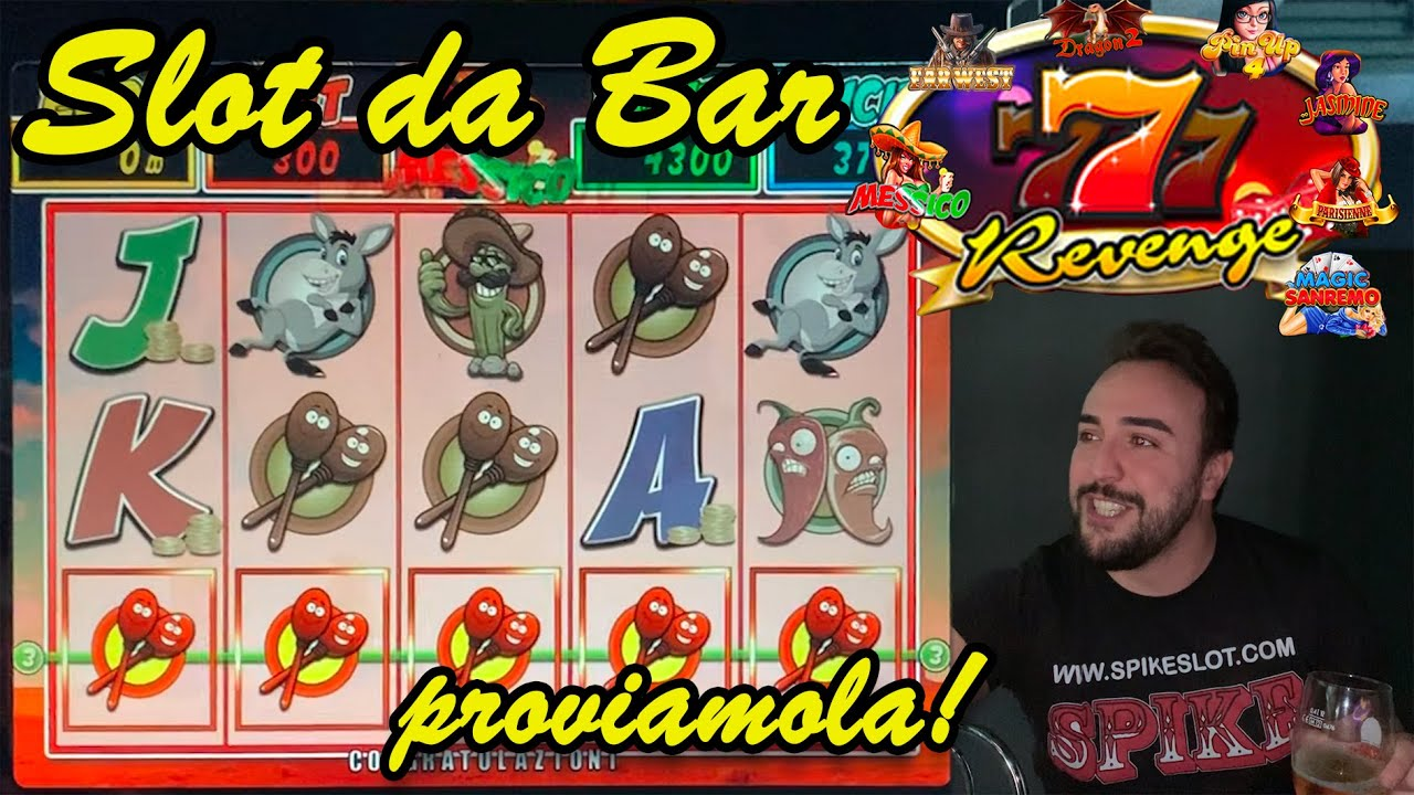 SLOT MACHINE da BAR - Proviamo la 7 REVENGE???? (Multigioco Vital Games)