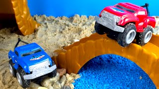 Unboxing Max Tow Truck Offroad Playset - Truck Toys for kids with Paw Patrol Rescue Team Fun