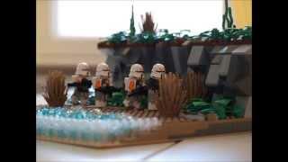 LEGO Star Wars Moc : Clone Patrol on Saleucami
