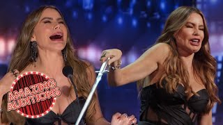 Judges Highlights - BEST Of Sofía Vergara On America's Got Talent | Amazing Auditions