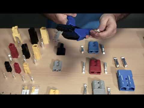 Conectores Anderson para aplicativos de bateria ou energia