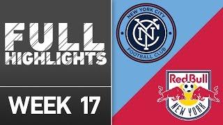 HIGHLIGHTS: New York City FC vs. New York Red Bulls | July 3, 2016