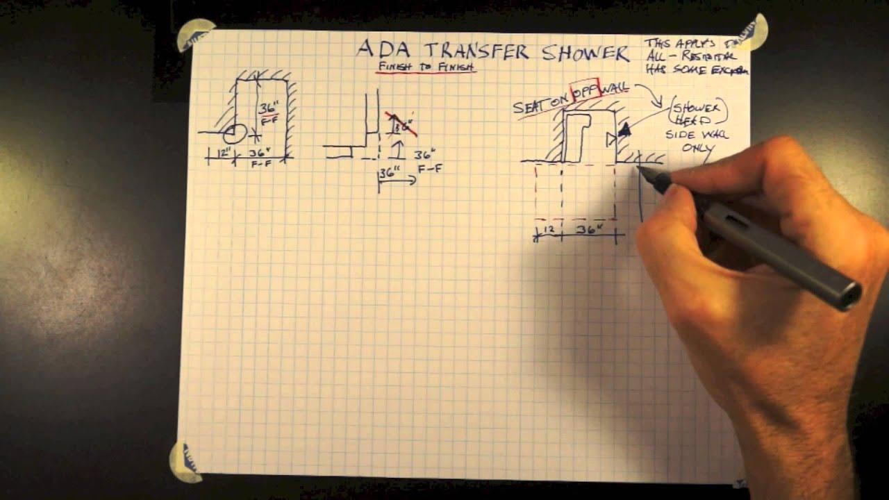 ADA Transfer Shower 11-0 - YouTube