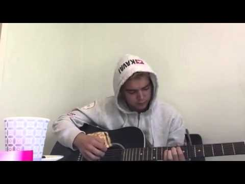 Ed Sheeran - I see fire cover (no autotune) - Cover by Oscar Sæther
