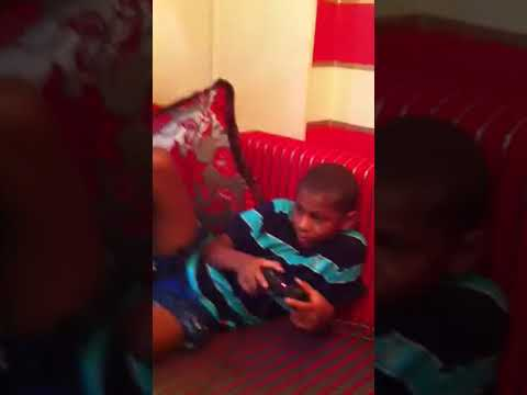 Playing video games in Cairo