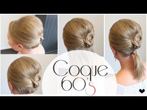 La Coque 60 S Cheveux Fins Sans Volume L A Hairstyle Inspiration Youtube