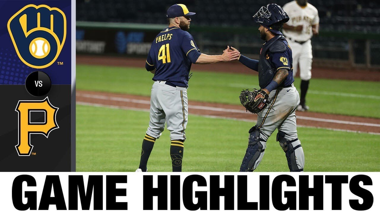 Braun and Sogard lead the comeback in the Brewers 6-5 win | Brewers-Pirates Game Highlights