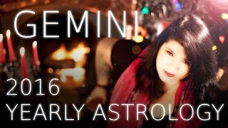 Gemini Yearly Astrology Forecast 2016 with Michele Knight