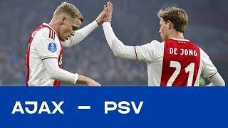 AJAX - PSV | Ajax klaar voor kraker: erop of eronder