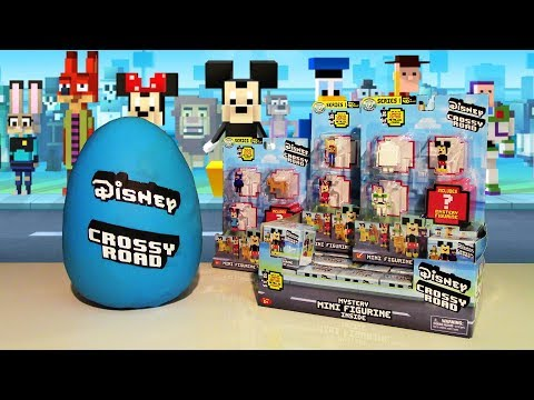 GIANT Disney CROSSY ROAD PLAY DOH Surprise Egg (RARE) Mystery Figures & Toys BIG HERO 6 TOY STORY