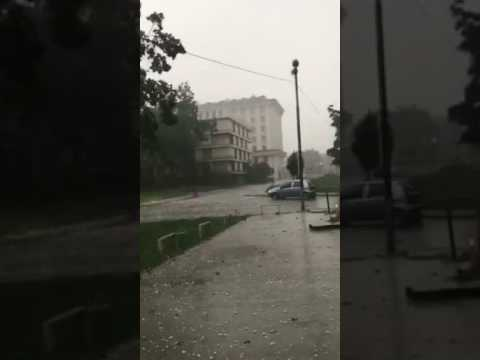 Невреме во Скопје 14-06-2017