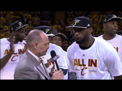 David Blatt, King James Mic'd Up in Series Sweep