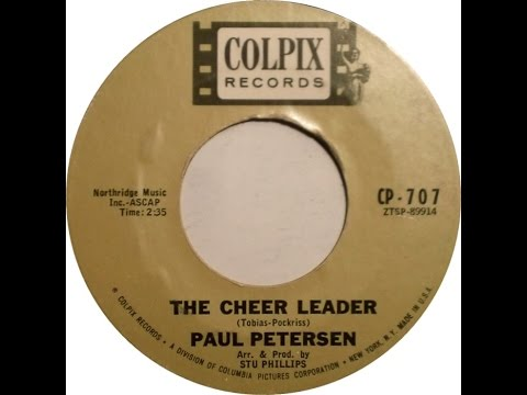 Paul Petersen - Cheer Leader