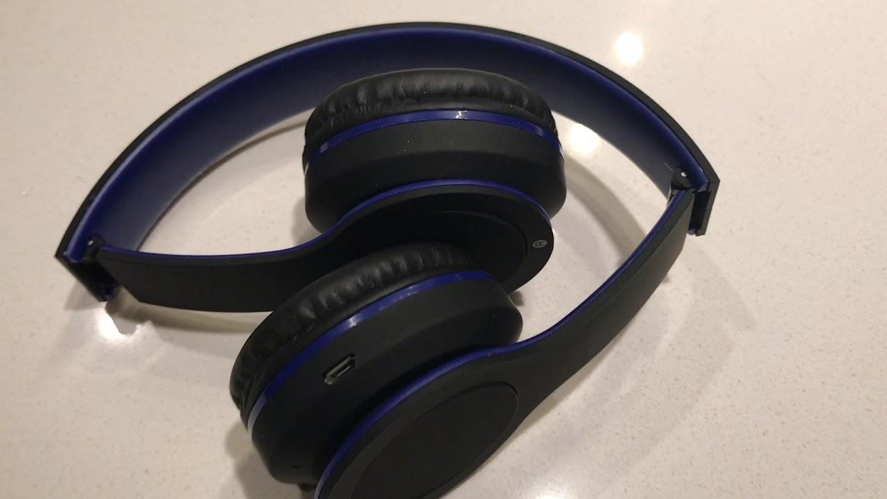 8f5c1b83c4e BT 200 Bluetooth Headphones By Sentry - YouTube