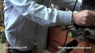 28 Four Drawer Bedside Table • Installing Sliding Dovetail Drawer Runners