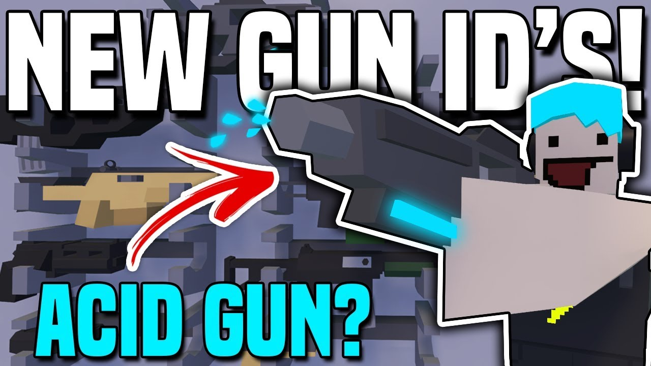 ALL NEW BELGIUM GUN ID'S! (Unturned 3 3 0 0 Update)