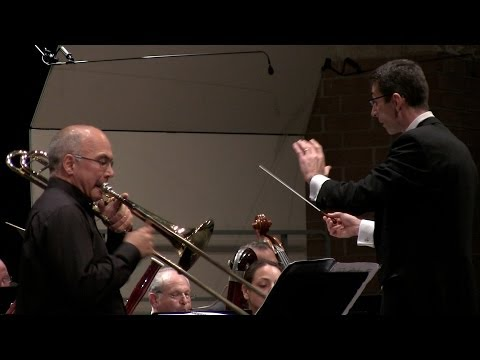"New York Wind Symphony, Joseph Alessi Soloist, ""Harvest"" Concerto for Trombone"