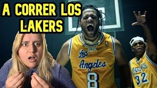 UYYY!! El Alfa El Jefe x Nicky Jam x Ozuna x Arcangel x Secreto - A Correr Los Lakers  | Reaccion