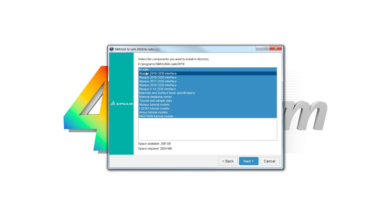 SIMULIA Abaqus 2019: How to download and install it